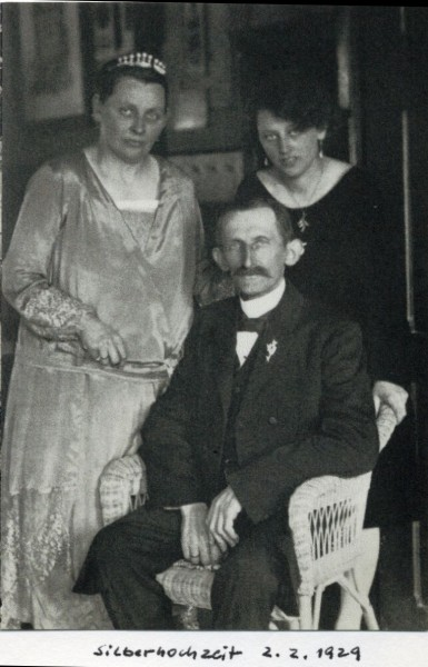 Ida, Richard, Hildegard Scheibe